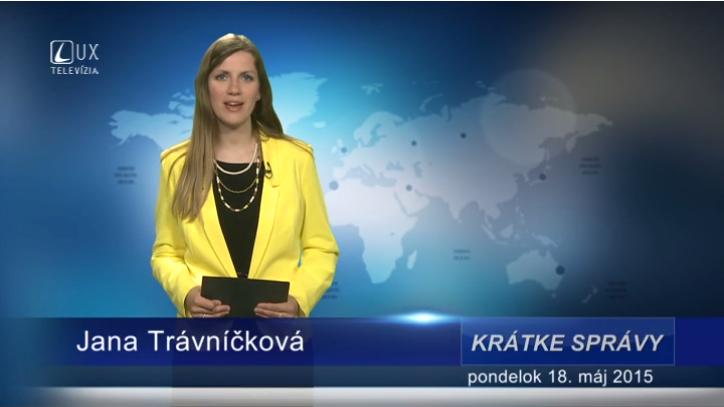 Krátke správy (18.05.2015)