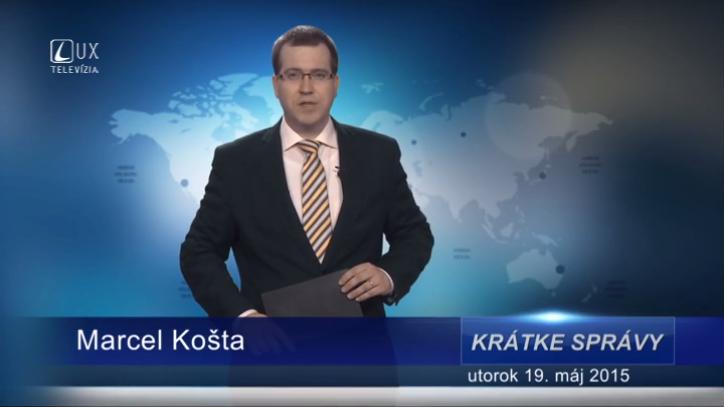 Krátke správy (19.05.2015)