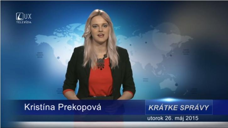 Krátke správy (26.05.2015)