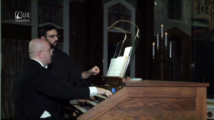 Hudobné pódium (73) Organový festival vo Svätej zemi