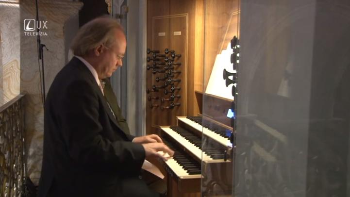 Hudobné pódium (75) Organový festival vo Svätej zemi
