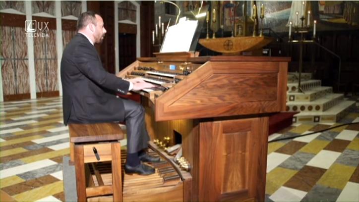 Hudobné pódium (76) Organový festival vo Svätej Zemi