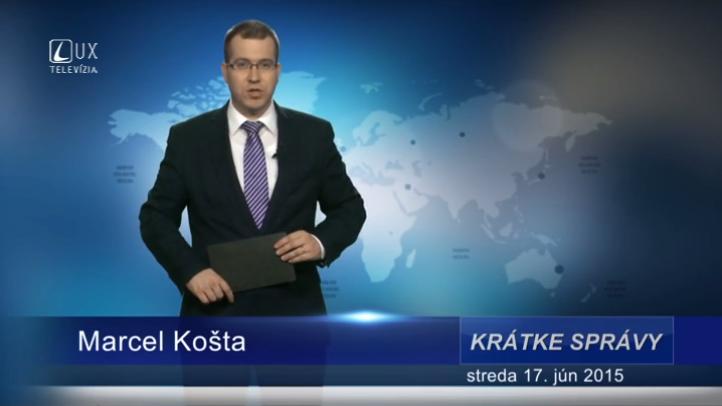 Krátke správy (17.06.2015)