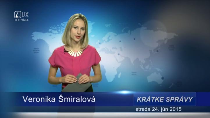 Krátke správy (24.06.2015)