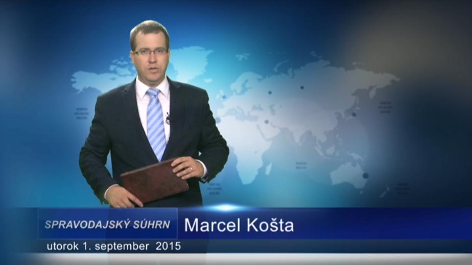 Krátke správy (01.09.2015)