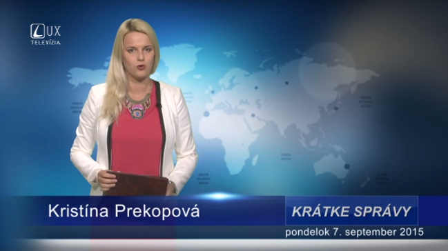 Krátke správy (07.09.2015)