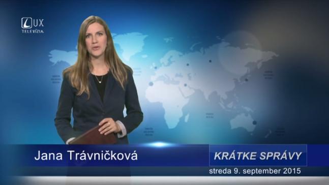 Krátke správy (09.09.2015)