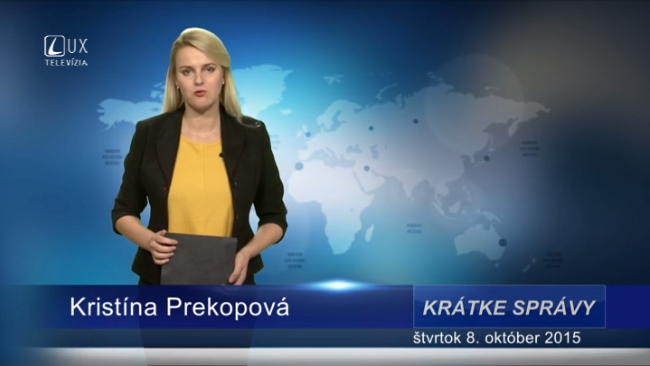 Krátke správy (08.10.2015)