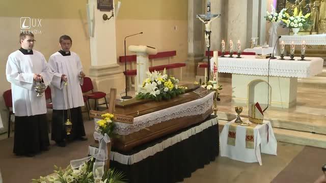 Zádušná svätá omša za Mons. Hrušovského