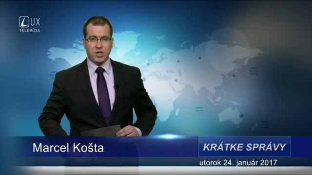 KRÁTKE SPRÁVY (24.01.2017)