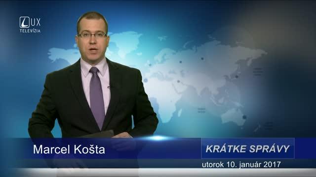 KRÁTKE SPRÁVY (10.01.2017)