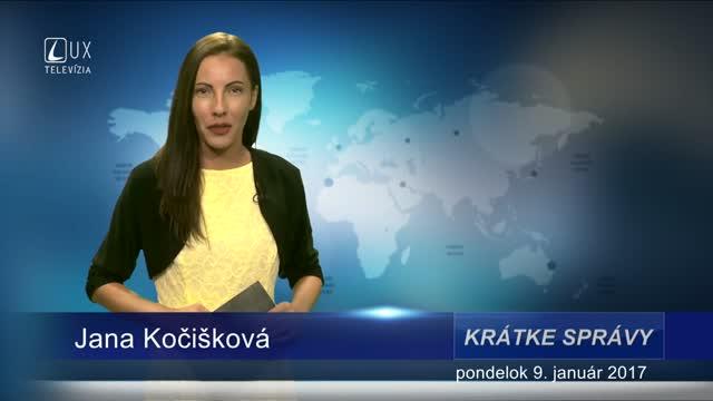 KRÁTKE SPRÁVY (09.01.2017)