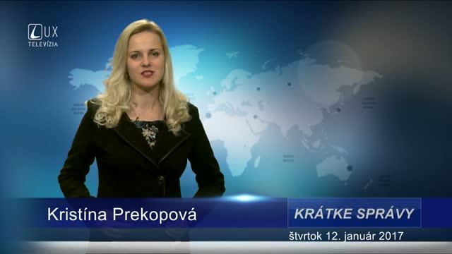 KRÁTKE SPRÁVY (12.01.2017)