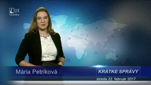 KRÁTKE SPRÁVY (22.02.2017)
