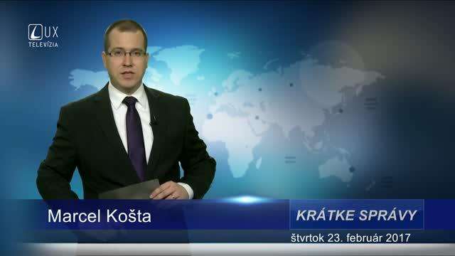 KRÁTKE SPRÁVY (23.02.2017)