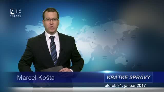 KRÁTKE SPRÁVY (31.01.2017)