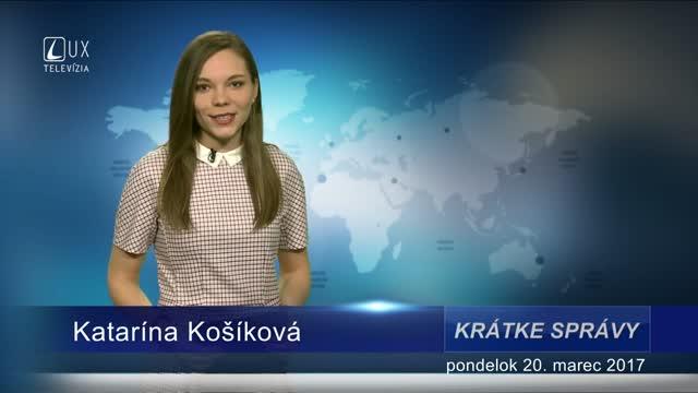 KRÁTKE SPRÁVY (20.03.2017)
