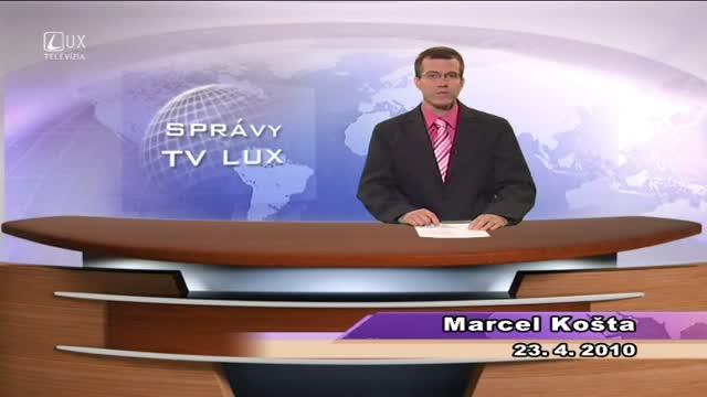 KRÁTKE SPRÁVY (23.4.2010)