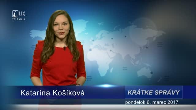 KRÁTKE SPRÁVY (06.03.2017)