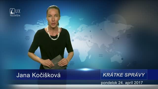 KRÁTKE SPRÁVY (24.04.2017)