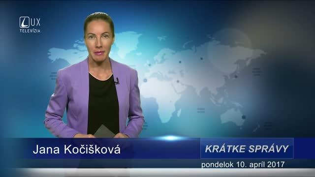 KRÁTKE SPRÁVY (10.04.2017)