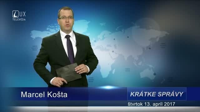 KRÁTKE SPRÁVY (13.04.2017)