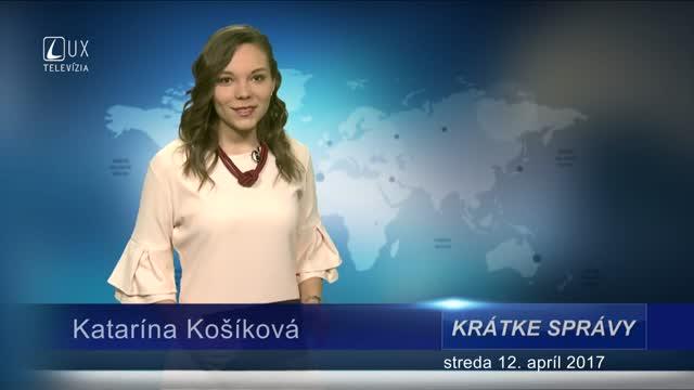 KRÁTKE SPRÁVY (12.04.2017)