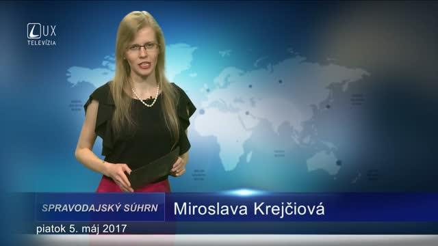 SPRAVODAJSKÝ SÚHRN (05.05.2017)