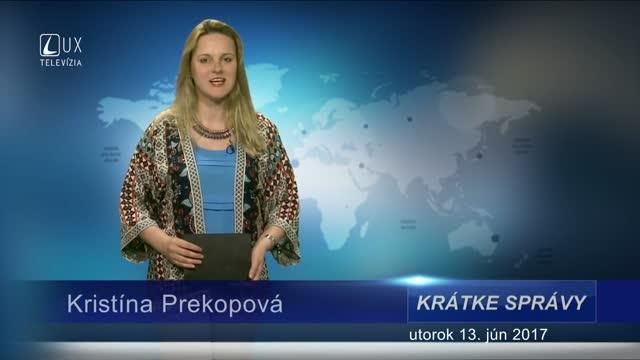 KRÁTKE SPRÁVY (13.06.2017)