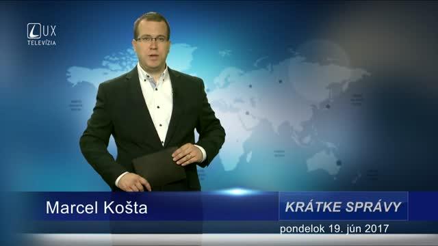 KRÁTKE SPRÁVY (19.06.2017)