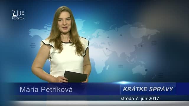 KRÁTKE SPRÁVY (07.06.2017)