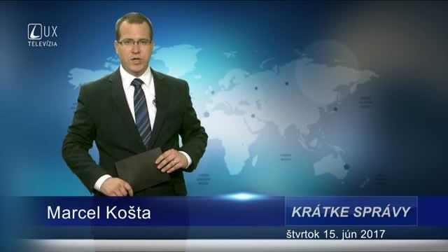 KRÁTKE SPRÁVY (15.6.2017)