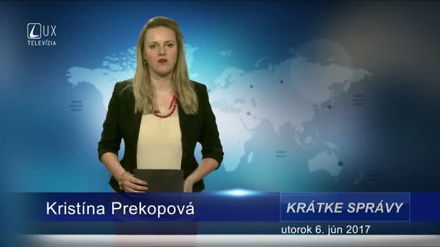 KRÁTKE SPRÁVY (06.06.2017)
