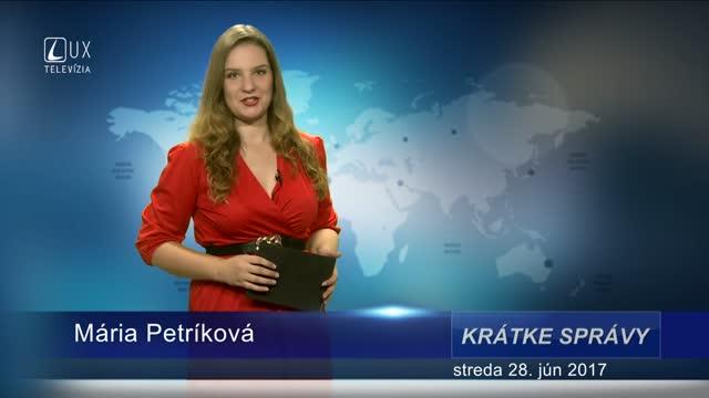 KRÁTKE SPRÁVY (28.6.2017)