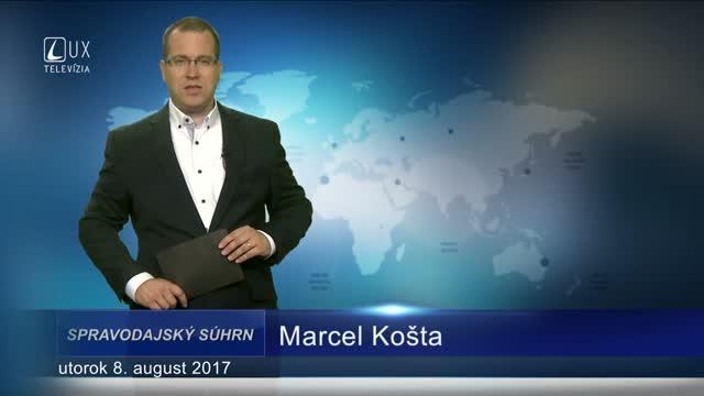SPRAVODAJSKÝ SÚHRN (8.8.2017)