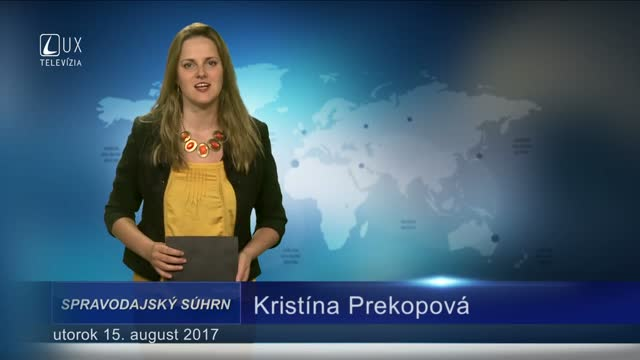 SPRAVODAJSKÝ SÚHRN (15.08.2017)