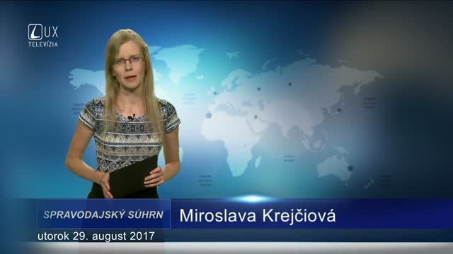 SPRAVODAJSKÝ SÚHRN (29.08.2017)