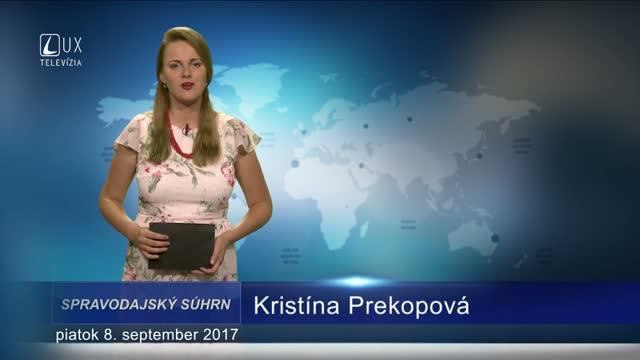 SPRAVODAJSKÝ SÚHRN (8.9.2017)