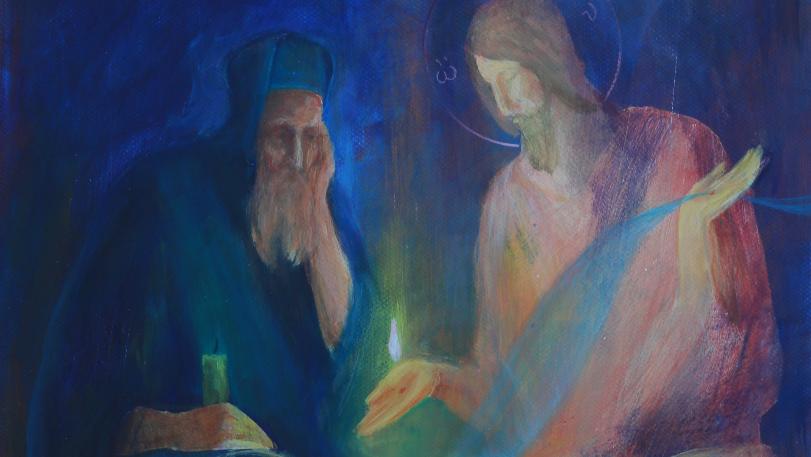 SLOVO V OBRAZE (21) JEŽIŠ A NIKODÉM