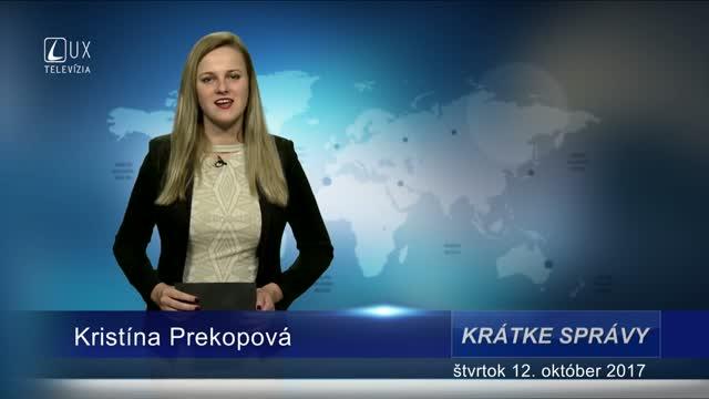 KRÁTKE SPRÁVY (12.10.2017)