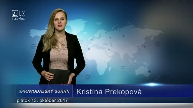 SPRAVODAJSKÝ SÚHRN (13.10.2017)