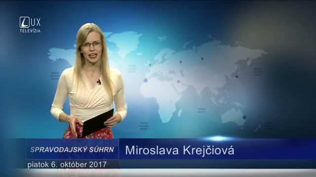 SPRAVODAJSKÝ SÚHRN (06.10.2017)