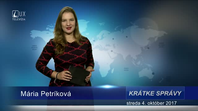 KRÁTKE SPRÁVY (04.10.2017)