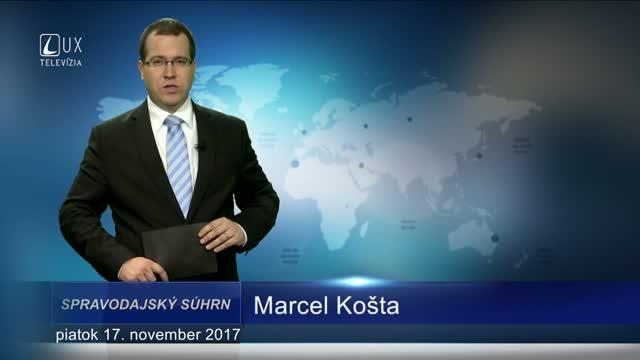 SPRAVODAJSKÝ SÚHRN (17.11.2017)
