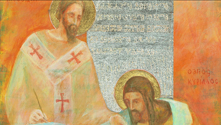 SLOVO V OBRAZE (27) SV. CYRIL A METOD