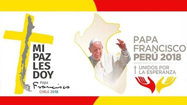 PÁPEŽ FRANTIŠEK V ČILE A PERU