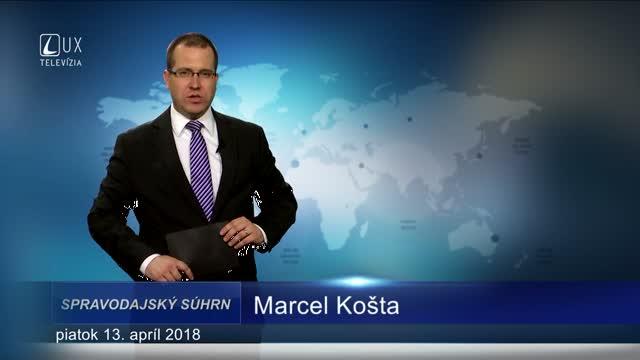 SPRAVODAJSKÝ SÚHRN (13.4.2018)