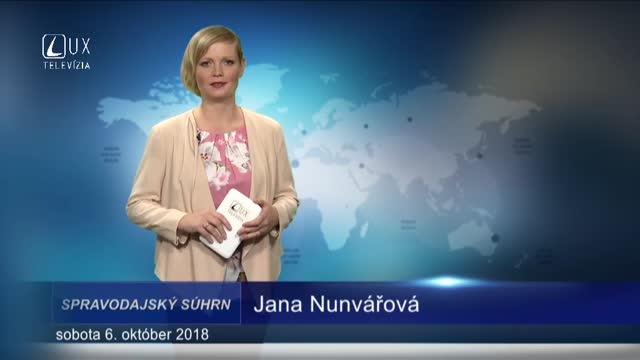 SPRAVODAJSKÝ SÚHRN (6.10.2018)