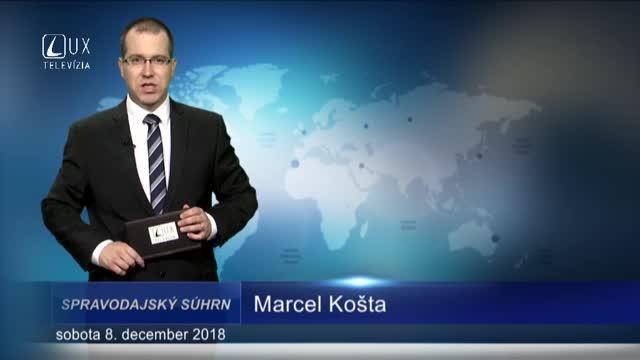 SPRAVODAJSKÝ SÚHRN (8.12.2018)