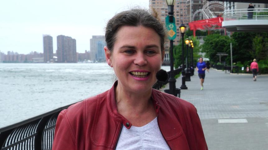SPOJENÍ OCEÁNOM (63) MARTINA ARENDÁČOVÁ, MANHATTAN, NEW YORK